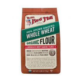 Bob's Red Mill Organic Whole Wheat Flour 5lb.