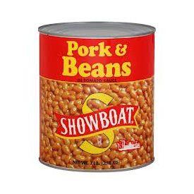 Showboat Pork & Beans #10