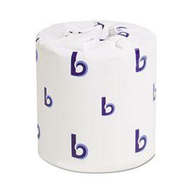 Boardwalk® 2-Ply Toilet Tissue, White, 400 Sheets/Roll