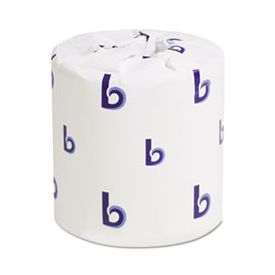 Boardwalk® 1-Ply Toilet Tissue White