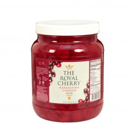 Royal Cherry Maraschino Cherry Halves 64oz