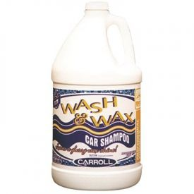 Carroll Wash & Wax Car Shampoo 1gal.