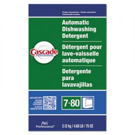 Cascade® Automatic Dishwasher Powder, Fresh Scent, 75 oz Box