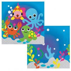 JUVI OCEAN LUNCHEON NAPKINS 3 PLY