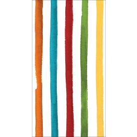 Dotted & Striped Guest Towels Multi Color 3-Ply