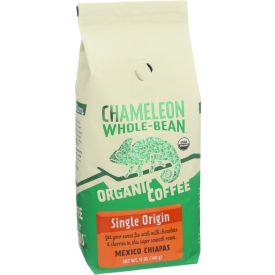 Chameleon Cold Brew Whole Bean Coffee Single Origin 12oz.