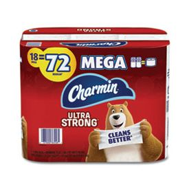 Charmin® Ultra Strong Mega Bathroom Tissue 2-Ply