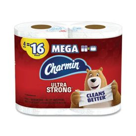 Charmin® Ultra Strong Mega Bathroom Tissue 2-Ply