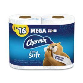 Charmin® Ultra Soft Mega Bathroom Tissue 2-Ply