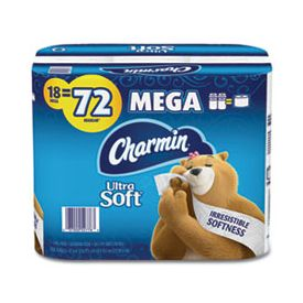 Charmin® Ultra Soft Mega Bathroom Tissue 2-Ply