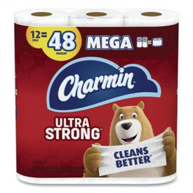 Charmin Ultra Strong Mega Bathroom Tissue 2-Ply White