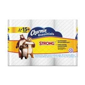 Charmin® Essentials Strong Bathroom Tissue, 1-Ply