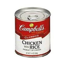 Campbell's Ready to Serve Chicken with Rice Soup 7.25 oz.