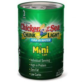 Chicken Of The Sea Chunk Light Tuna 3oz.