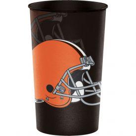 NFL Cleveland Browns Plastic Souvenir Cups 22 oz.
