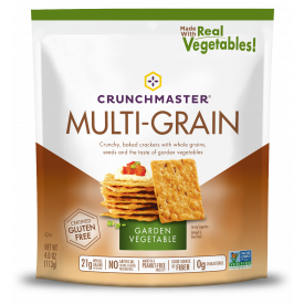 Crunchmaster Multi-Grain Roasted Vegetable Crackers  4oz