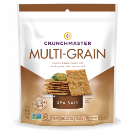 Crunchmaster Multi-Grain Sea Salt Crackers 4.5oz.