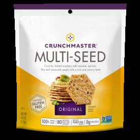 Crunchmaster Multi-Seed Original Crackers 4oz.