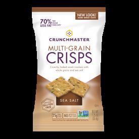Crunchmaster Multi-Grain  Sea Salt  Crisps  1.25oz.