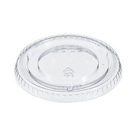 Dart Plastic Cup Lid, 12oz. w/Straw slot