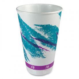Dart Jazz Trophy Dual Insulated Foam Cups 16 oz