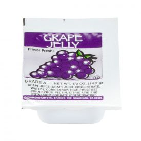 Diamond Crystal Individual Grape Jelly 0.5oz cups