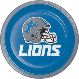 NFL DETROIT LIONS Appetizer or Dessert Plates 7