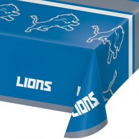NFL DETROIT LIONS Plastic Table Covers 54x102