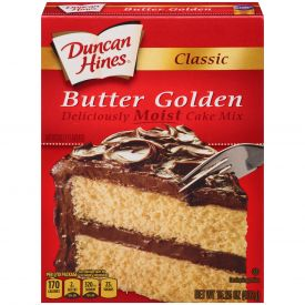 Duncan Hines Butter Golden Cake Mix 15.25oz.