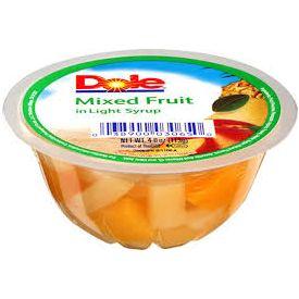 Dole Mixed Fruit  4oz