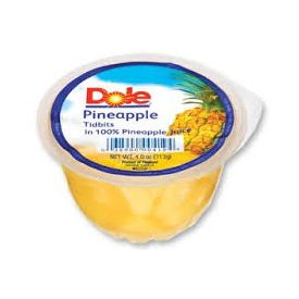 Dole Pineapple Tidbits  4oz