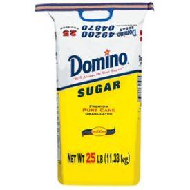 Domino Granulated Sugar  25lb.
