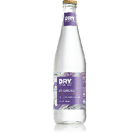 Dry Soda Sparkling Lavender Soda Glass Bottle 12oz.