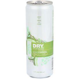 Dry Soda Sparkling Cucumber Soda Can 12oz.