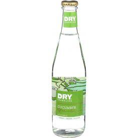 Dry Soda Sparkling Cucumber Soda Glass Bottle 12oz.
