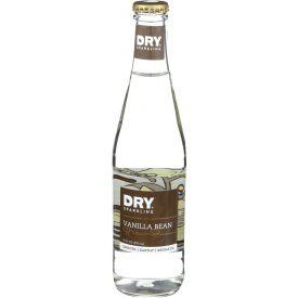 Dry Soda Sparkling Vanilla Bean Glass Bottle 12oz.