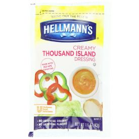 Hellmann's Creamy Thousand Island Dressing 1.5oz.