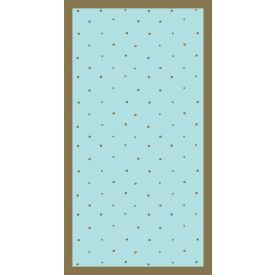 Gilded Geo Guest Towels Sprinkle 3 Ply Two-Sided