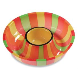 Fiesta Plastic Chip Dip Trays