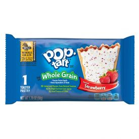 Kellogg's® Whole Grain Frosted Strawberry Pop-Tarts Single Pack 1.76oz.