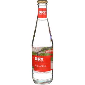 Dry Soda Sparkling Fuji Apple Glass Bottle 12oz.