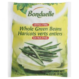 Bonduelle Whole Green Beans Extra Fine Haricot Verts -2lbs