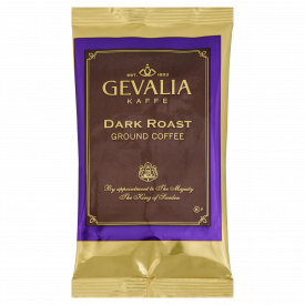 Gevalia Dark Roast Coffee 2.5oz. .