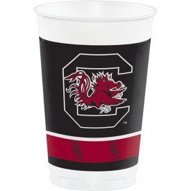 UNIVERSITY OF SOUTH CAROLINA PLASTIC CUPS 20 oz.