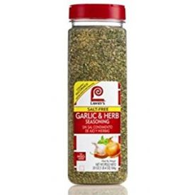 Lawry's Salt Free Garlic & Herb Seasoning 20oz