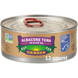 Genova Solid Albacore Tuna In Olive Oil 5oz.