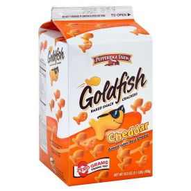 Pepperidge Farms Gold Fish Cheese Crackers 31oz