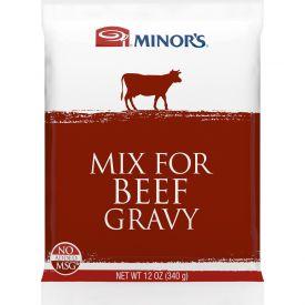 Minor's Beef Gravy Mix - 12 oz