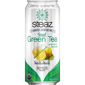 Steaz Organic Iced Tea Half & Half Zero 16oz