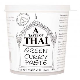 A Taste of Thai Green Curry Paste 35oz.